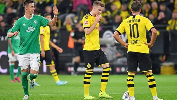 Werder Bremen Im Dfb Pokal Gegen Dortmund Ndr De Sport