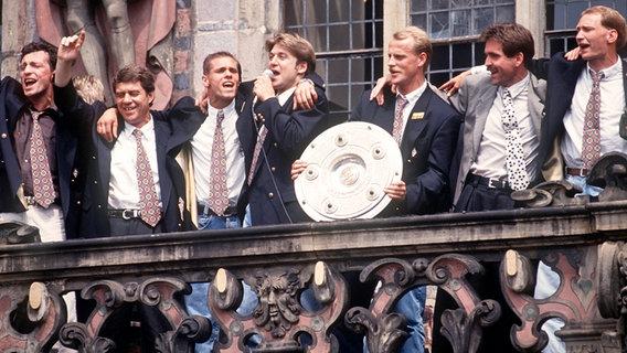 Eintracht Frankfurt Programm 1992//93 SV Werder Bremen