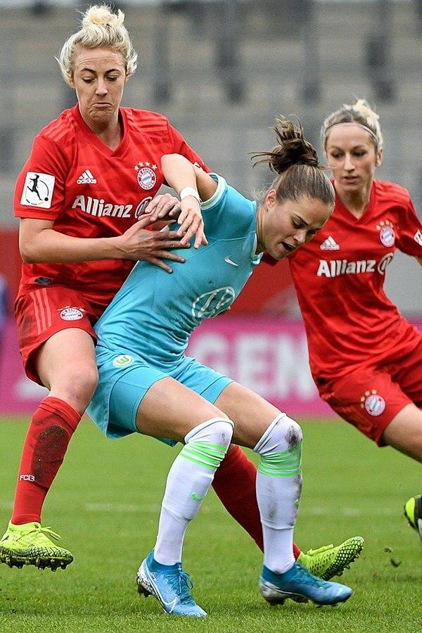 Bayern München - VfL-Frauen: Das ganze Pokalspiel