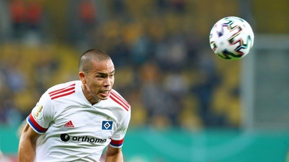 HSV-Stürmer Bobby Wood. © imago images / Picture Point LE