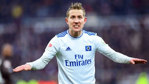Hamburgs Lewis Holtby