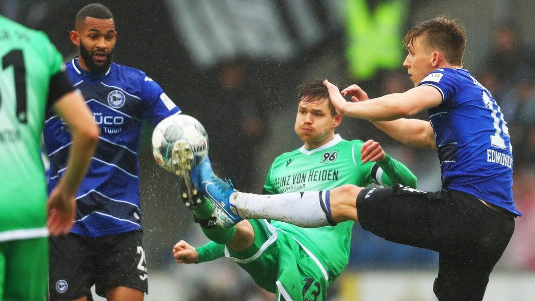 2. Liga: Hannover 96 verliert bei Arminia Bielefeld