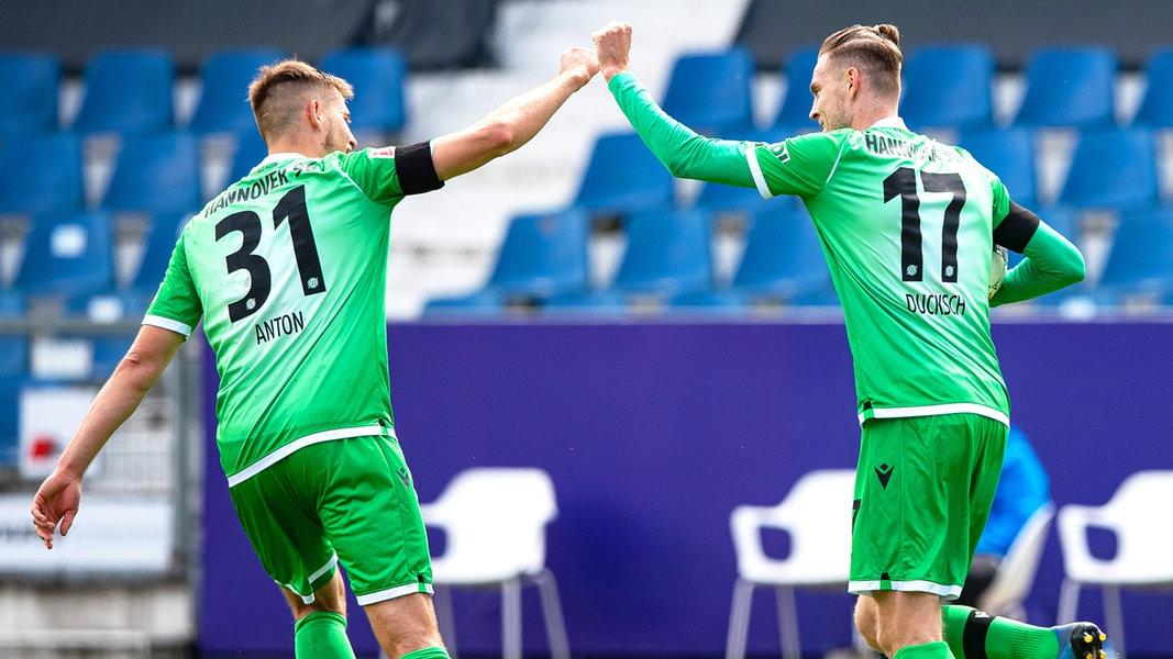 Hannover 96 gewinnt beim VfL Osnabrück | NDR.de - Sport - Fußball