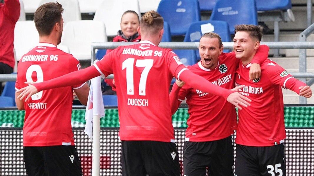 Aufstiegskampf? Hannover 96 zeigt Düsseldorf, wie's geht ...