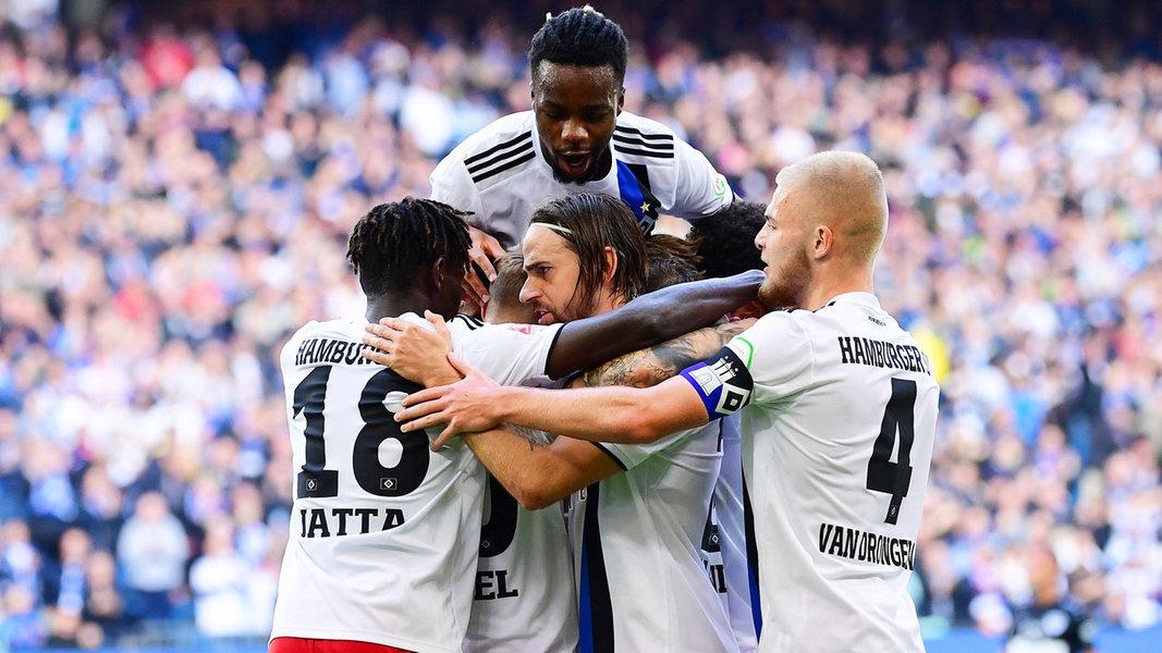 Dfb Pokal Hsv Empfangt Vfb Stuttgart Ndr De Sport Fussball