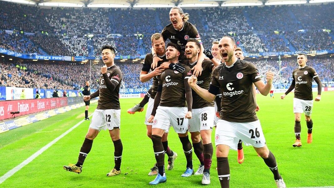 St. Pauli gewinnt das Derby beim HSV