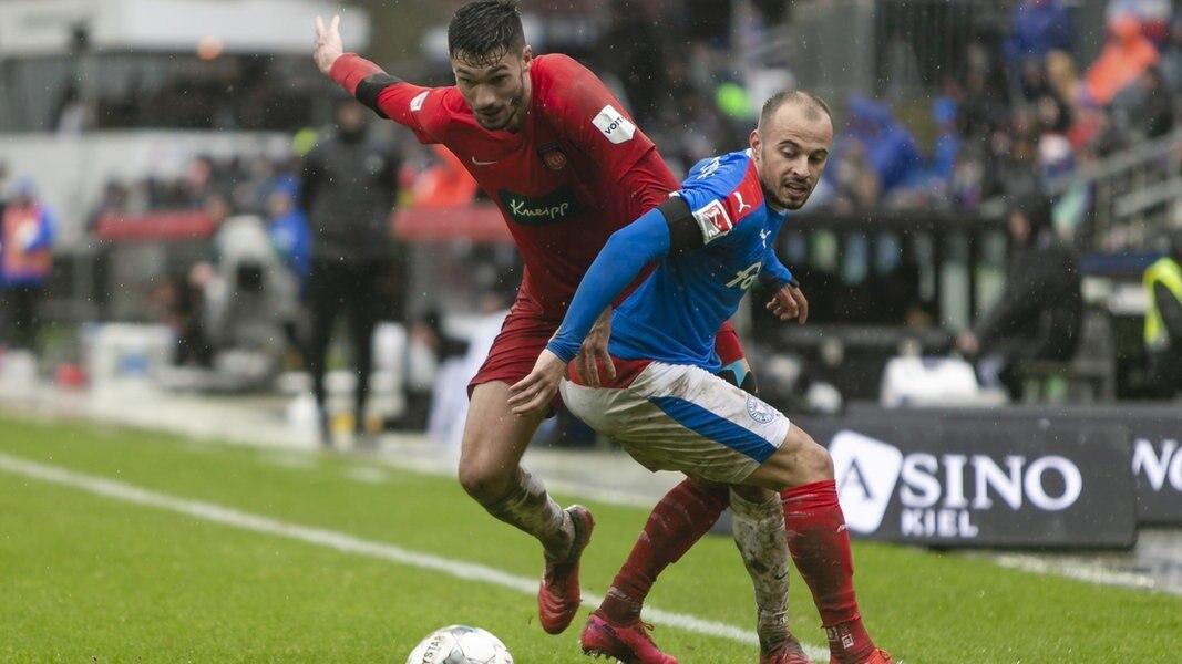 Zweite Liga: Holstein Kiel unterliegt Heidenheim