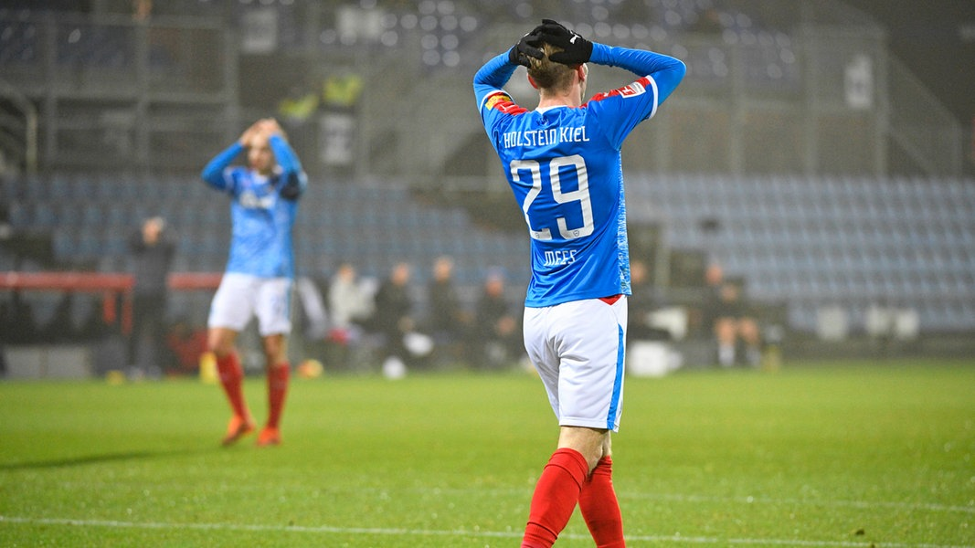 Vier positive Corona-Tests: Holstein Kiel in Quarantäne - NDR.de