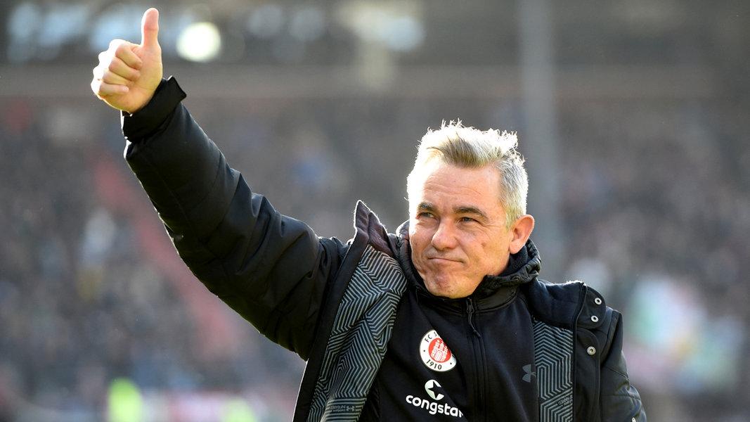 Trainer Von St Pauli