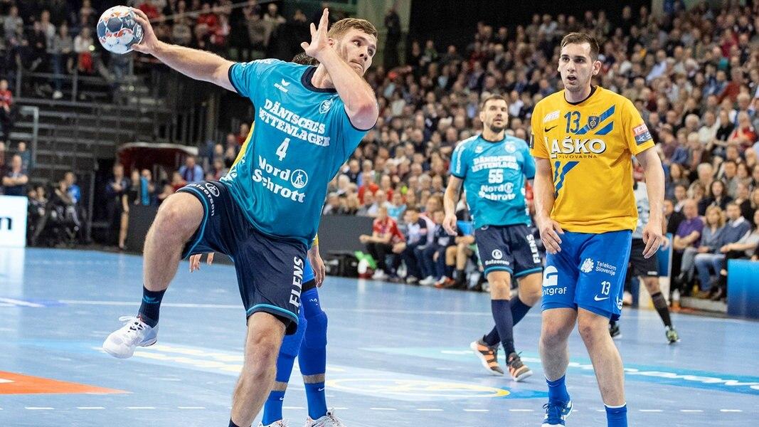 Handball: SG Flensburg-Handewitt bezwingt Celje knapp