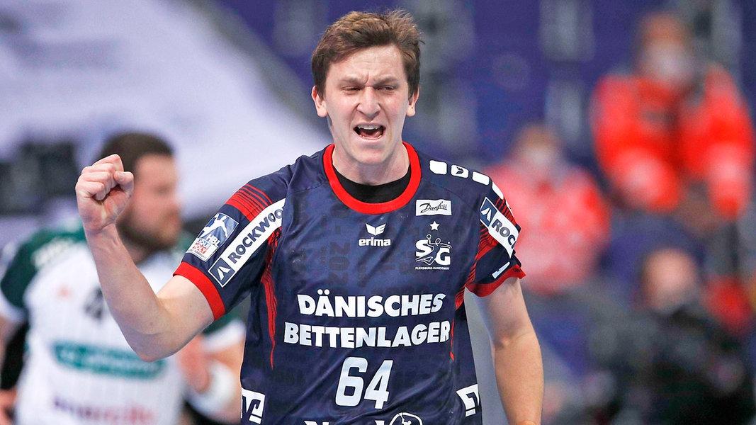 Handball: Flensburg gewinnt Nordduell bei Hannover-Burgdorf - NDR.de