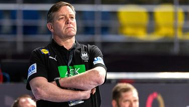 Handball-Bundestrainer Alfred Gislason © imago images / Bildbyran