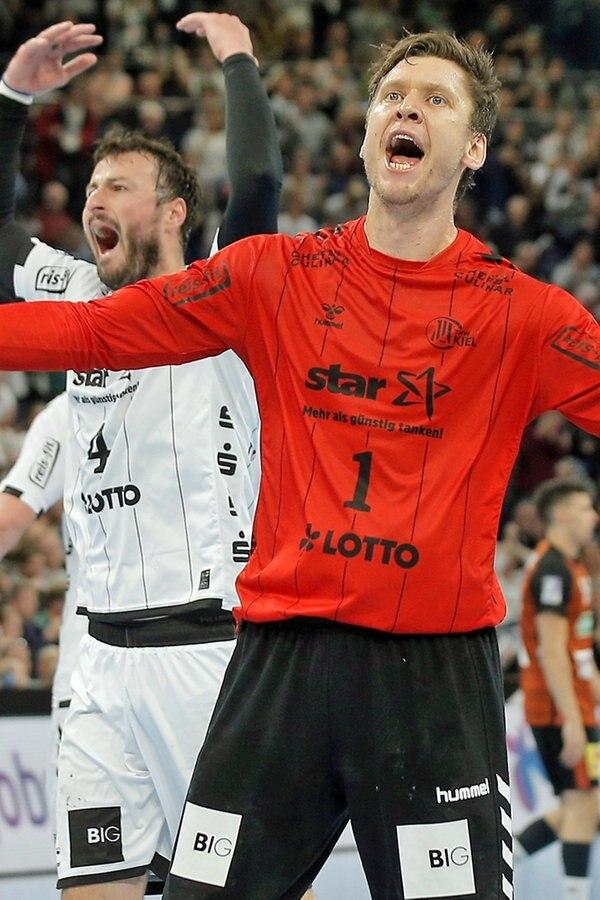 """Handball-Topspiel: Kieler Jubel, enttäuschte """"Recken"""""""