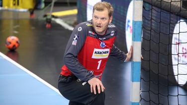 Handball-Torwart Johannes Bitter © IMAGO / Sportfoto Rudel