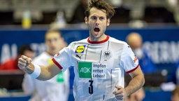 DHB-Spieler Uwe Gensheimer © IMAGO / Andreas Gora