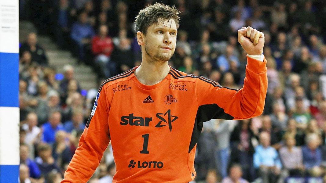 heraustreten und sichern handball