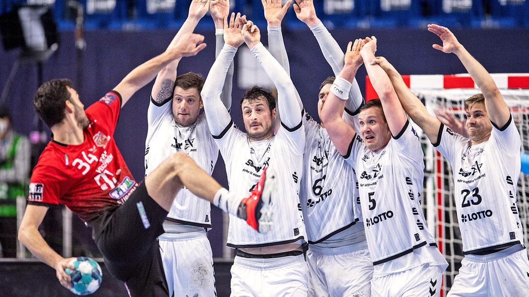 Corona-Fall: Team des THW Kiel in Quarantäne - NDR.de