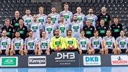 Die deutsche Handball-Nationalmannschaft vor der Handball-EM 2018 in Kroatien © picture alliance / Marco Wolf