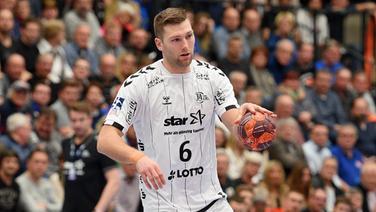 Handball-Profi Harald Reinkind vom THW Kiel.   imago images