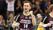 Hampus Wanne von der SG Flensburg-Handewitt © imago/Beautiful Sports