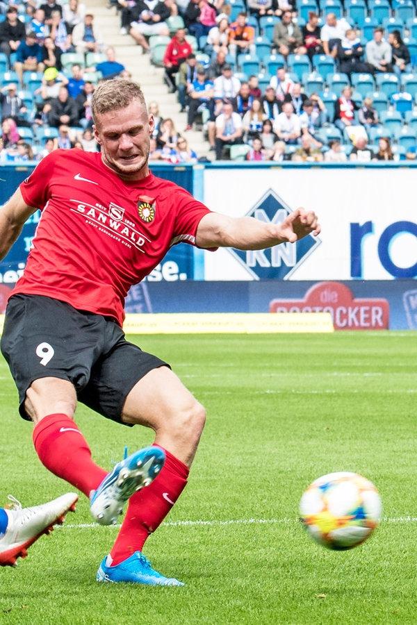 Hansa Rostock wie ein Abstiegskandidat