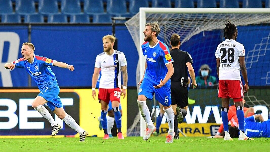 3 3 Kiel Shocks Hsv In The Last Second Ndr De Sport World Today News