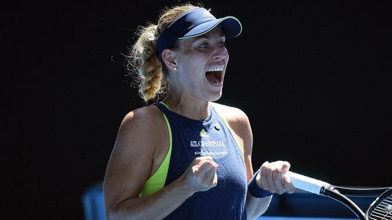 Angelique Kerber im Viertelfinale der Australian Open