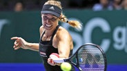Tennis-Profi Angelique Kerber aus Kiel bei den WTA-Finals in Singapur © picture alliance/dpa