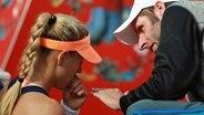 Angelique Kerber mit ihrem Trainer Torben Beltz © imago/Schreyer