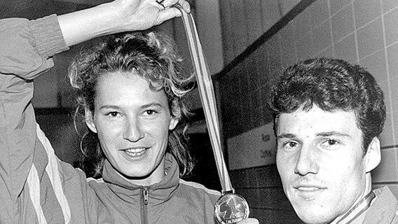 Heike Henkel Eine Bilderbuchkarriere Im Hochsprung Ndr De Sport Legenden