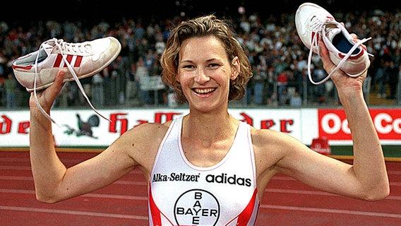 Heike Henkel Eine Bilderbuchkarriere Im Hochsprung Bild 9 Ndr De Sport Legenden