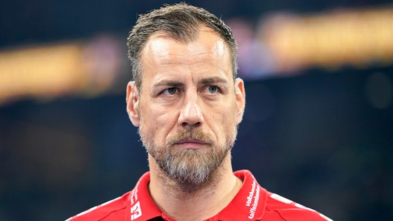 Coach Maik Machulla vom Handball-Bundesligisten SG Flensburg-Handewitt © imago images / foto2press