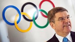 IOC-Präsident Thomas Bach © dpa