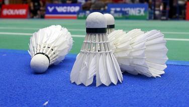 Badminton-Symbolbild © imago images/Zink