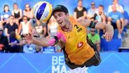 Beachvolleyballer Clemens Wickler © Witters