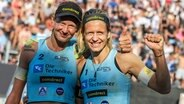 Das Beachvolleyball-Duo Margareta Kozuch (l.) und Laura Ludwig © imago images / Beautiful Sports