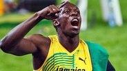 Jamaikas Wundersprinter Usain Bolt © Bongarts/Getty Images