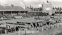 Die Eröffnungsveranstaltung im Olympiastadion in Antwerpen © Getty Images