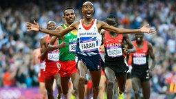 Mohamed Farah © dpa-bildfunk Foto: John G.Mabanglo