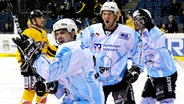 Jubel bei den Hamburg Freezers © fishing4