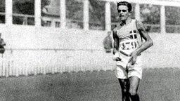 Ugo Frigerio: italienischer Sieger über 3.000 und 10.000 m Gehen © picture-alliance/ dpa