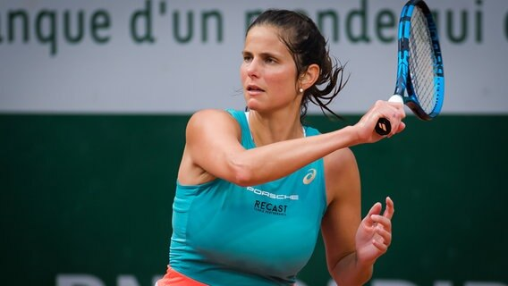 Julia Görges bei den French Open in Paris. © picture alliance/DPPI Foto: Rob Prange
