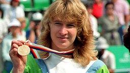 """1988: das """"Golden-Slam-Jahr"""" von Tennis-Ikone Steffi Graf © picture-alliance / dpa"""