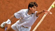 Tommy Haas 1997 am Hamburger Rothenbaum © imago Foto: Claus Bergmann