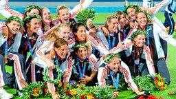 Olympia-Gold für die Hockey-Damen © picture-alliance / dpa/dpaweb