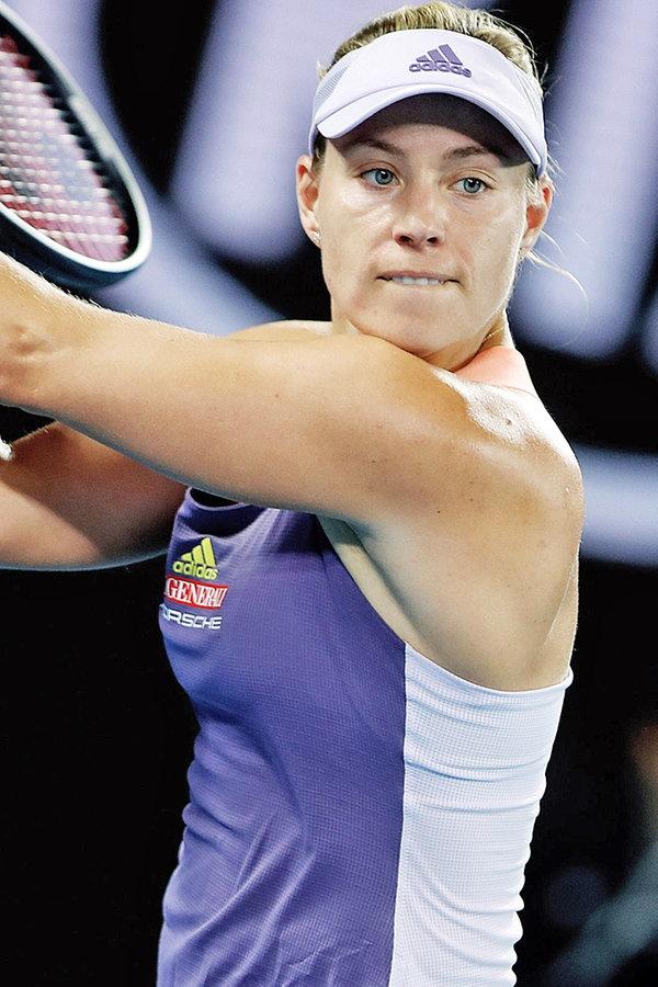 Australian Open: Kerber kämpft sich ins Achtelfinale