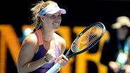 Angelique Kerber jubelt nach einem gewonnenen Match  Foto: imago images/ZUMA Press
