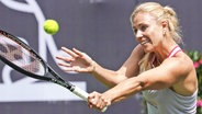 Tennisspielerin Angelique Kerber bei einem Showmatch in Bad Homburg © picture alliance/dpa Foto: Frank Rumpenhorst