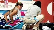 Tennis-Profi Angelique Kerber (l.) © picture-alliance/AAP Fotograf: Martin Philbey