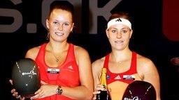 Tennis-Profi Angelique Kerber (r.) und Caroline Wozniacki  © imago/Paul Zimmer Foto: Paul Zimmer